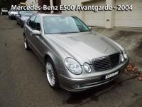 Mercedes-Benz E500 - 2004