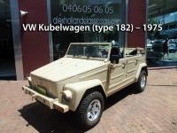 VW Kubelwagen (type 182) – 1975