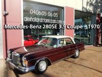 Mercedes-Benz 280SE 3.5 Coupe – 1970