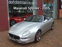 Maserati Spyder - 2005