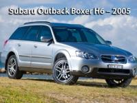 Subaru Outback Boxer H6 - 2005