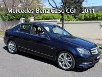 Mercedes-Benz C250 CGI – 2011