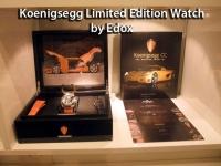 Koenigsegg Limited Edition Watch by Edox