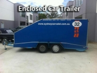Enclosed Car Trailer