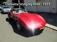 Corvette Stingray RHD - 1977