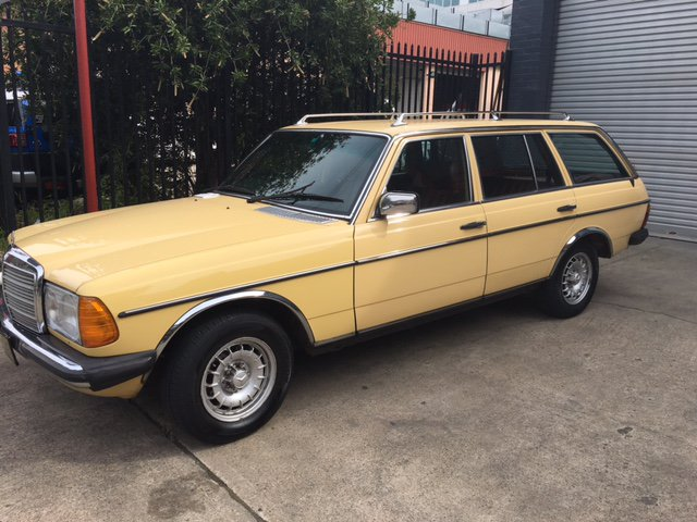 1980 mercedes benz 300td wagon alex holland classic cars for Mercedes benz 300td