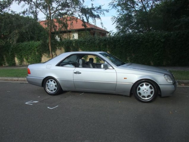 Mercedes benz s500 coupe 1994 alex holland classic cars for Mercedes benz 1994