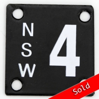 NSW Number Plate 4
