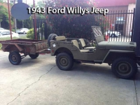 1943 Ford Willys Jeep