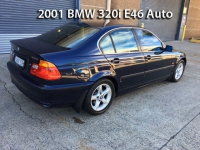 2001 BMW 320i E46 Auto