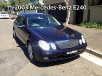 2003 Mercedes-Benz E240