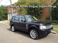 2005 Range Rover Vogue Supercharge