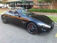 2013 Maserati MC GranCabrio