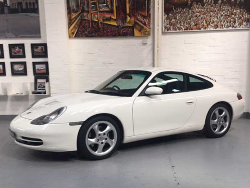 2000 Porsche 996 Carrera Manual