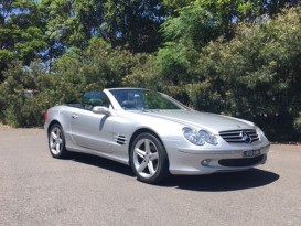 2004 Mercedes-Benz SL350