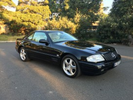 2000 Mercedes-Benz SL320