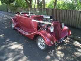 1934 Ford Deuce Bodied Hotrod