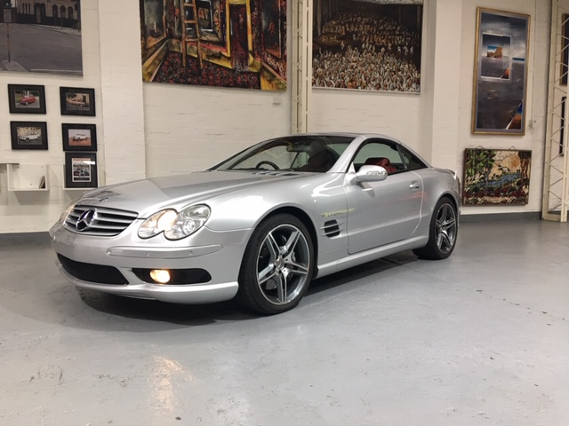 Mercedes 2002 SL55 AMG Auto