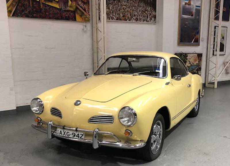 1960 VW Karmanghia Coupe