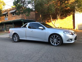 2012 Ford falcon ute XR6 FG auto super cab