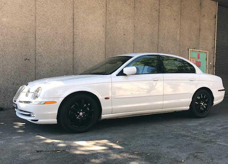 1999 Jaguar s type 4d sedan v6 sport