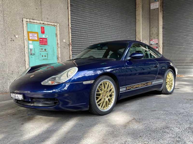 2001 Porsche 911 carrera 996 Auto Coupe